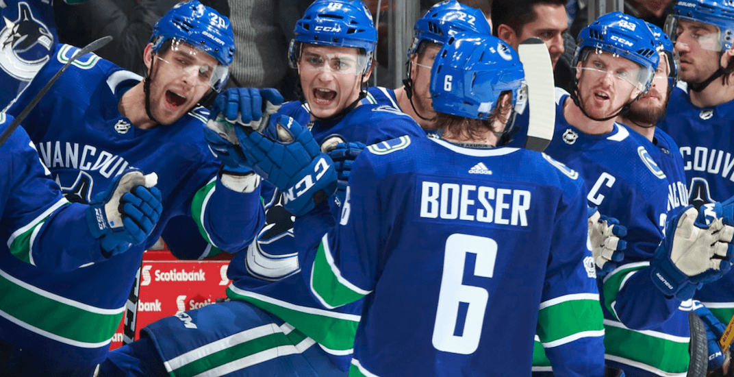 Handing out midseason report cards to every Canucks player
