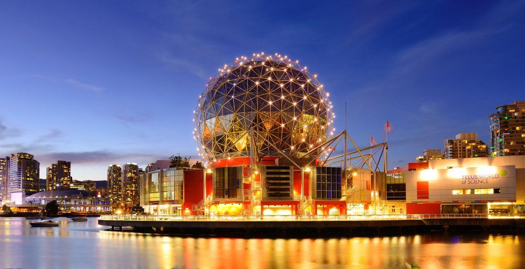 Telus World of Science in Vancouver (Songquan Deng/Shutterstock)