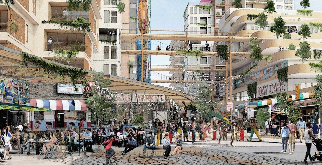 First glimpse of the Hogan's Alley redevelopment that will replace the Vancouver viaducts