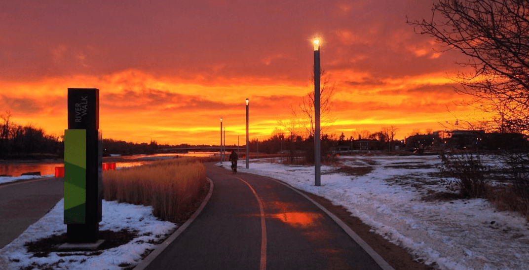 Calgary was blessed with a beautiful Black Friday sunrise (PHOTOS)