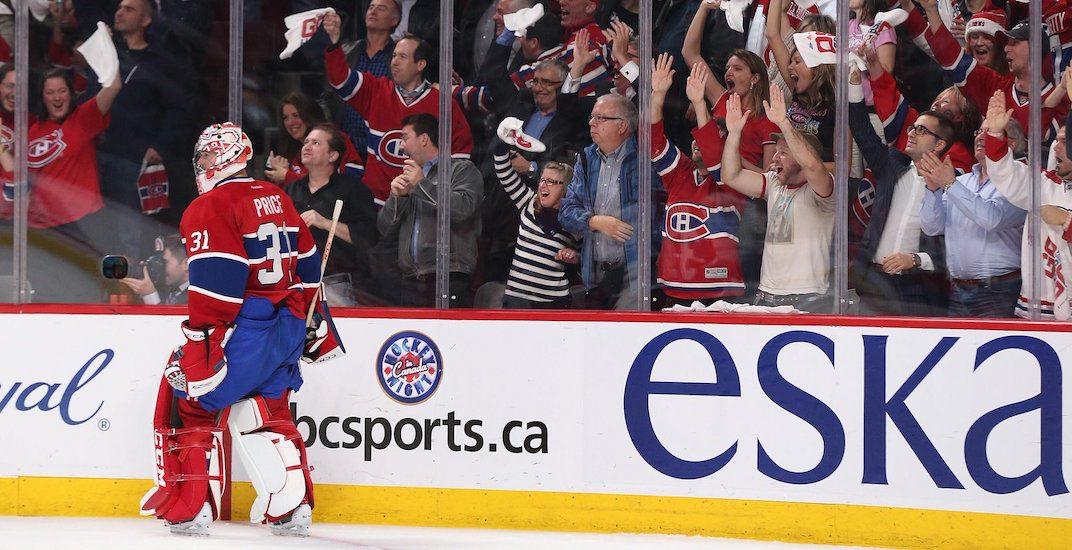 Carey price canadiens fans