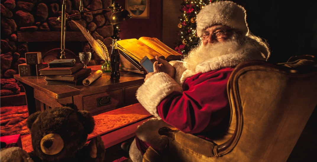 Transport Canada inspects sleigh and clears Santa Claus for takeoff