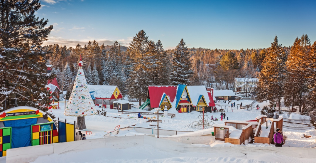 This magical Santa's village an hour outside of Montreal opens on December 1