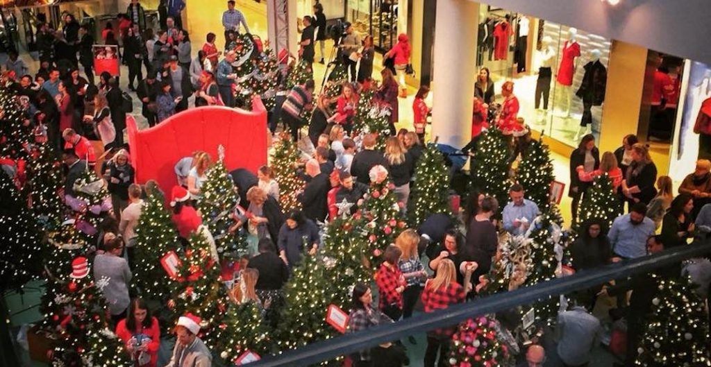 busiest shopping
