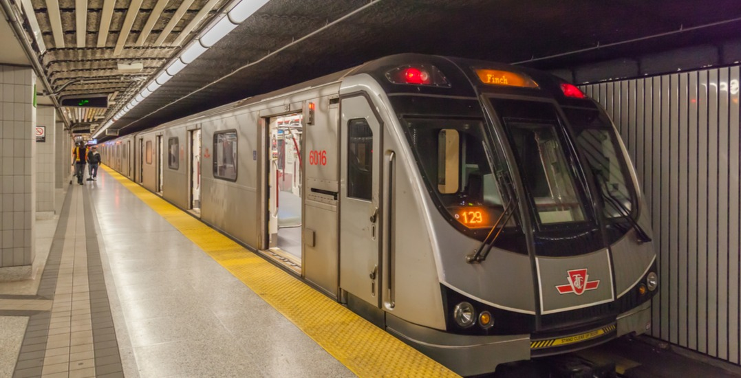 There will be a partial closure on the TTC this weekend: November 9 to 11