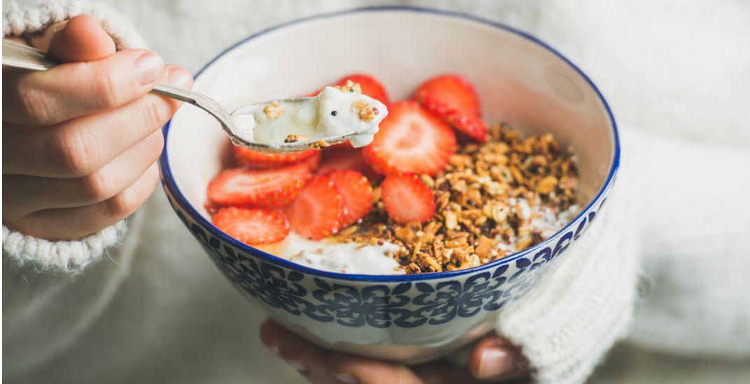 Bowl of yogurt / Shutterstock