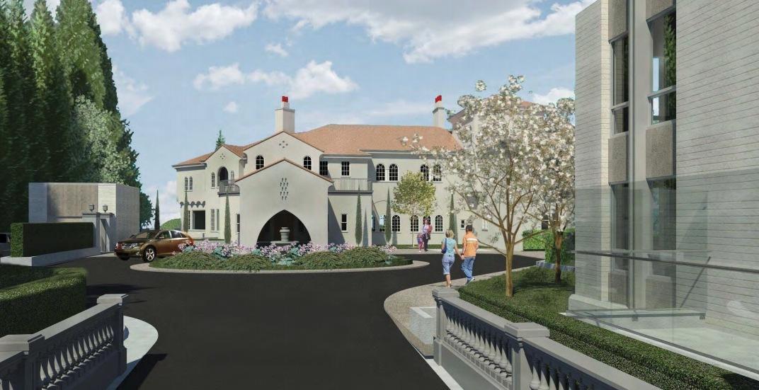 Vancouver approves plan to convert Casa Mia mansion into senior care home |  Urbanized