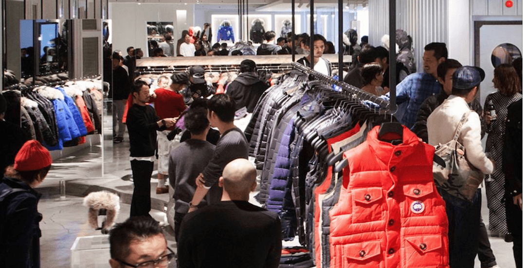 There's a huge designer winter jacket sale in Toronto next week
