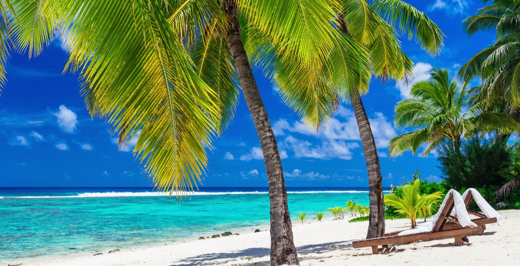 You can fly from Calgary to the Cook Islands for $628 return