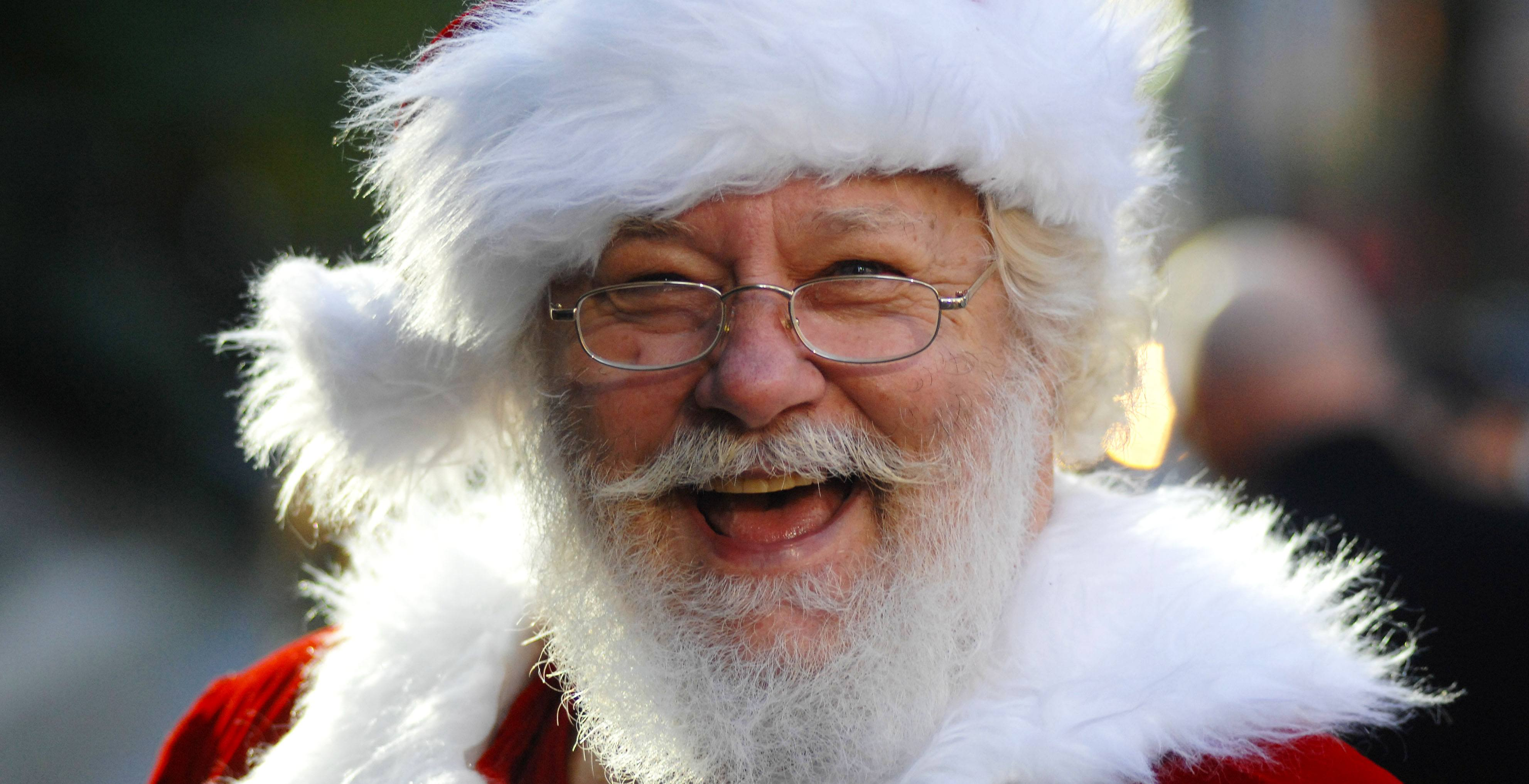 Santa Claus at a previous parade in Vancouver (Sergei Bachlakov/Shutterstock)