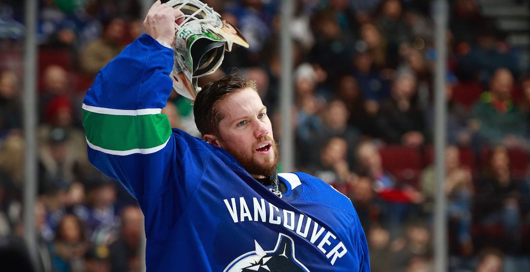 jacob markstrom canucks