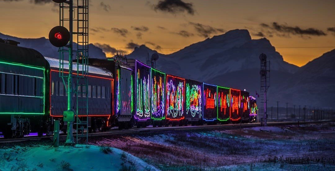 Canada's magical Christmas train rolls into town tonight