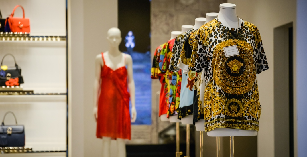 There's a Versace sample sale happening in Toronto next week
