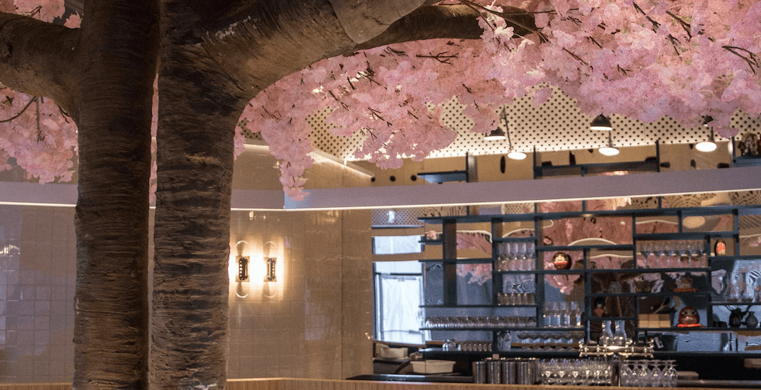 Montreal is getting a stunning Japanese cherry blossom restaurant (PHOTOS)