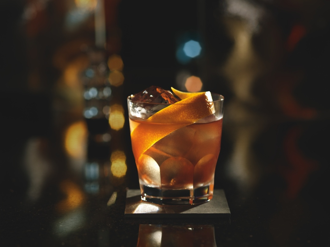 Aberfeldy gold old fashioned