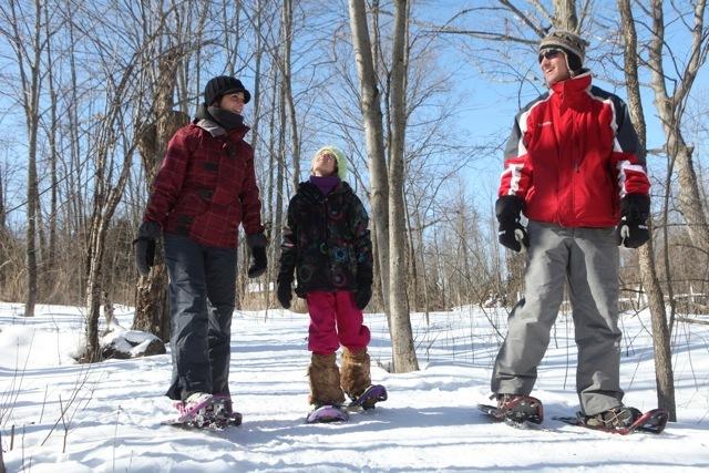 Snowshoeing Toronto