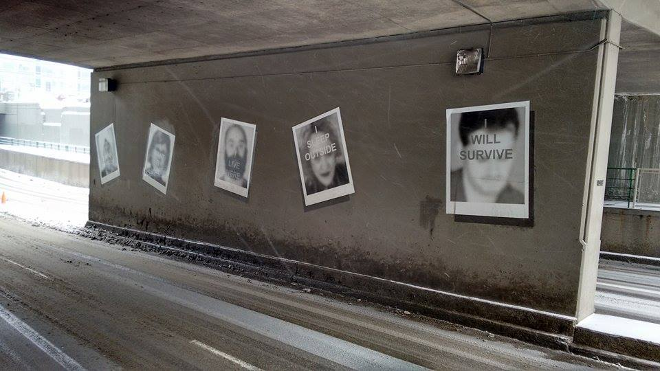 Have you seen the Polaroids exhibit in the 4th Street underpass?