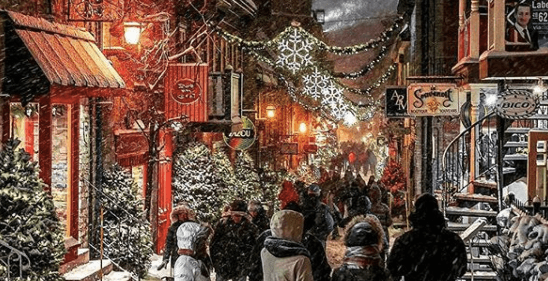Quebec City ranked one of the best Christmas destinations in the world
