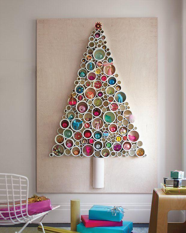 PVC-Pipe Tree / Marthastewart.com