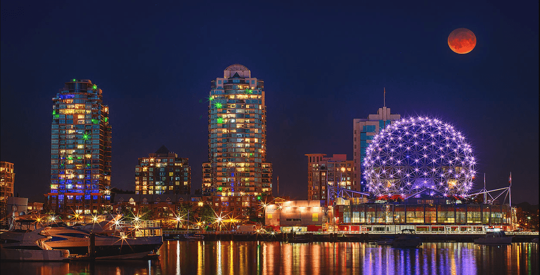 There's going to be a supermoon shining over Vancouver this weekend
