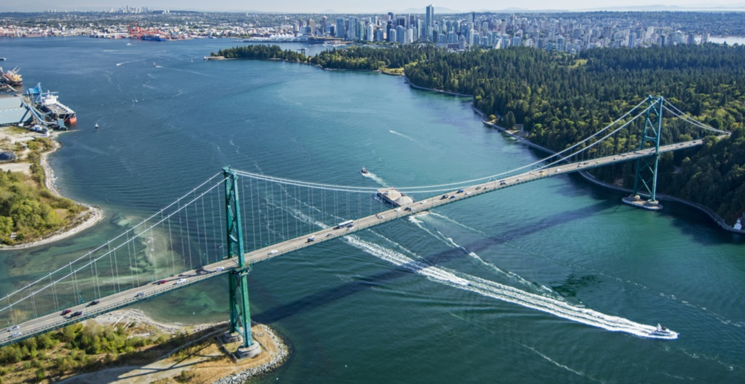 Lions Gate Bridge climb plan rejected by new BC government