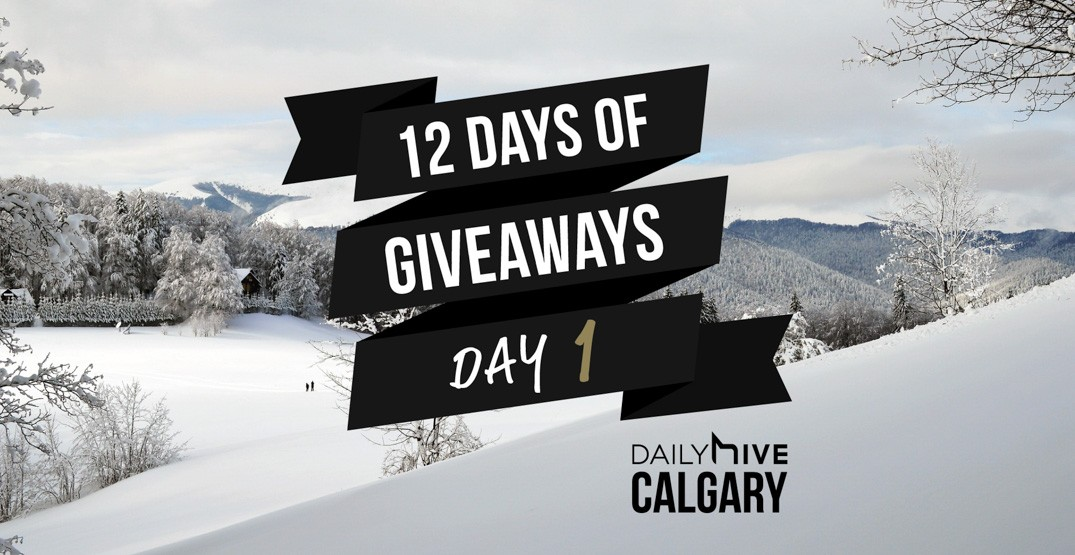 12 days of giveaways calgary 1