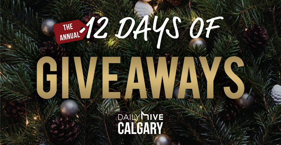 12 days of giveaways calgary feature image