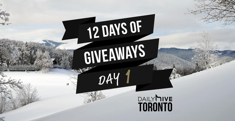 12 days of giveaways toronto 1