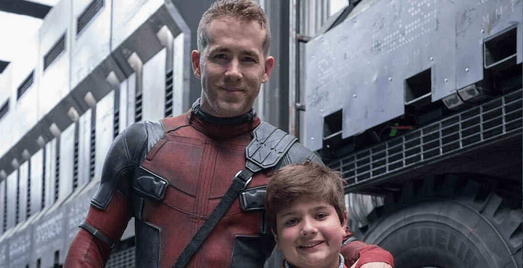 Young Vancouver cancer survivor meets Ryan Reynolds on set of Deadpool 2