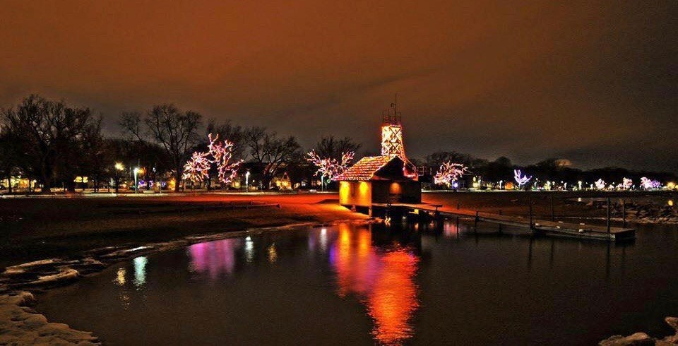 The Beaches boardwalk will light up with 80,000 lights tomorrow night