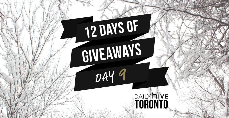 12 days of giveaways toronto 9