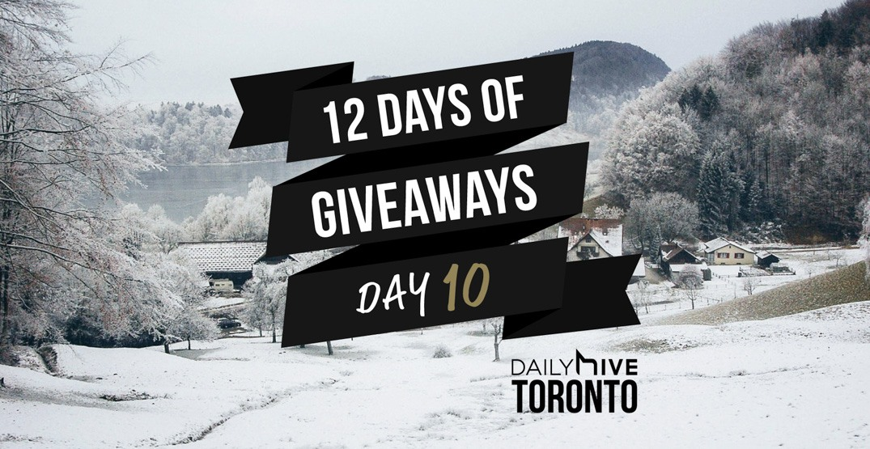 12 days of giveaways toronto 10