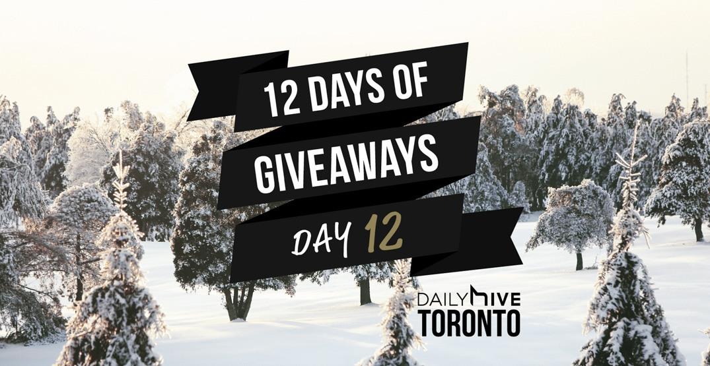 12 days of giveaways toronto 12