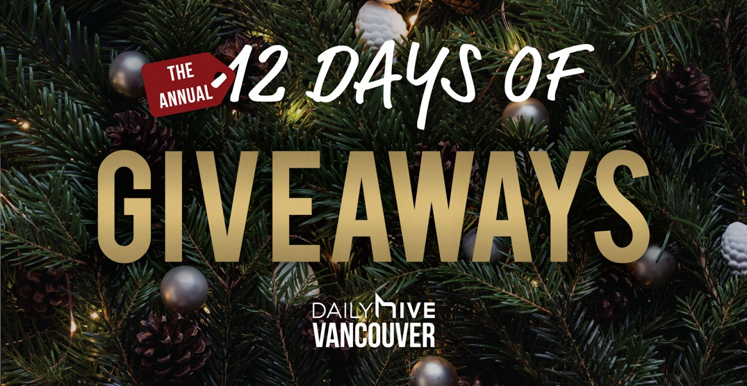 More than $39,000 in prizes in our annual 12 Days of Giveaways