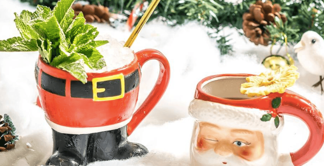 Get your holiday drink on at Montreal's Christmas-themed pop-up bar