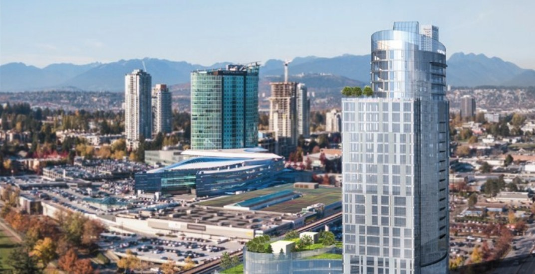 Central City Tower 2: Major new office tower proposed for Surrey City Centre