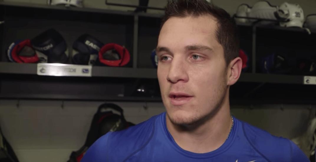 Canucks teammates react to devastating Dorsett injury news (VIDEO)