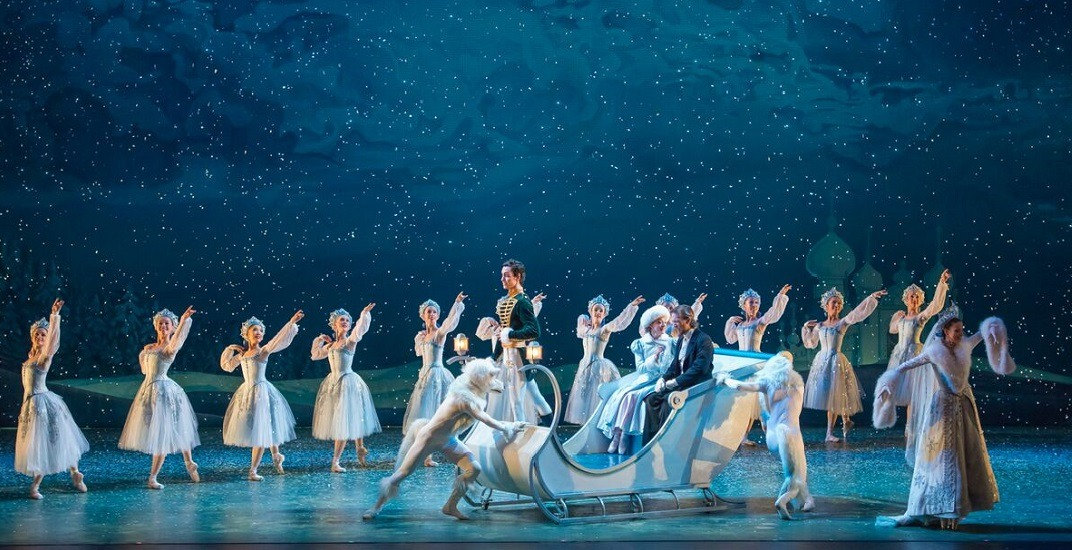Alberta ballet company artists in the nutcracker. photo by yin yi. preview