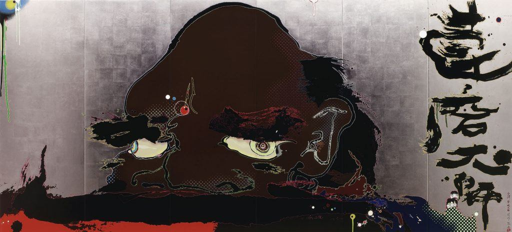 Release Chakra's gate at this instant, by Takashi Murakami (Takashi Murakami/Kaikai Kiki Co.)