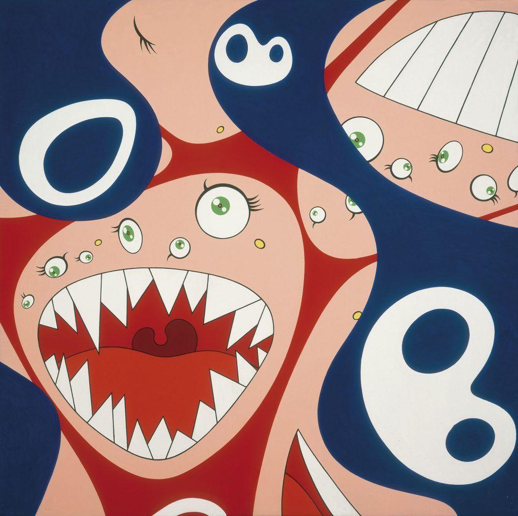 Klein's Pot A by Takashi Murakami (Takashi Murakami/Kaikai Kiki Co.)