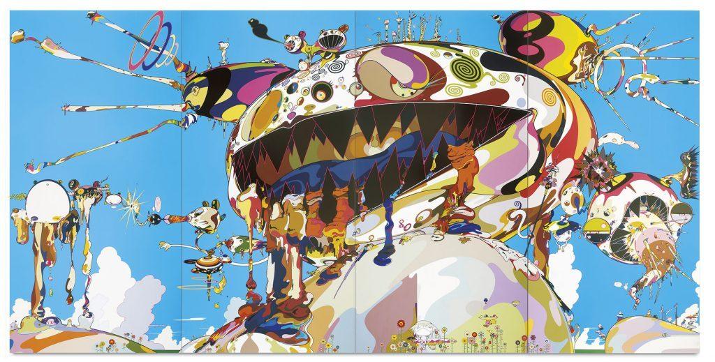 Tan Tan Bo Puking - a.k.a. Gero Tan by Takashi Murakami (Takashi Murakami/Kaikai Kiki Co.)