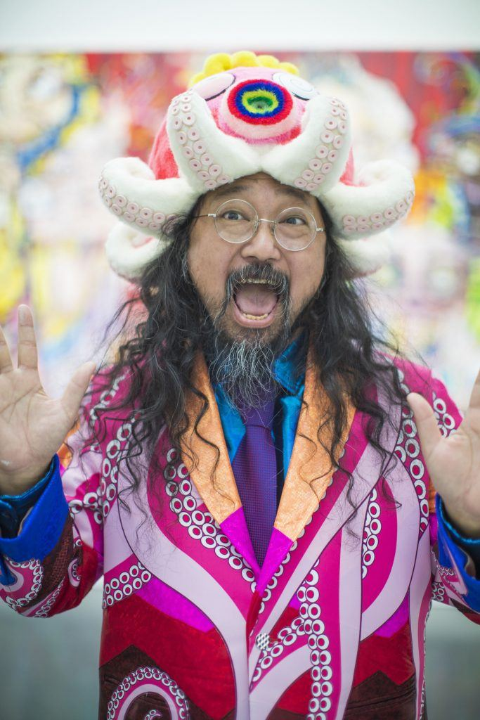 Japanese artist Takashi Murakami (provided by Vancouver Art Gallery)