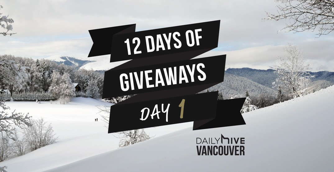 12 days of giveaways vancouver 1