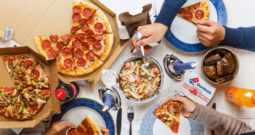 You can now add Domino's Pizza to your baby registry