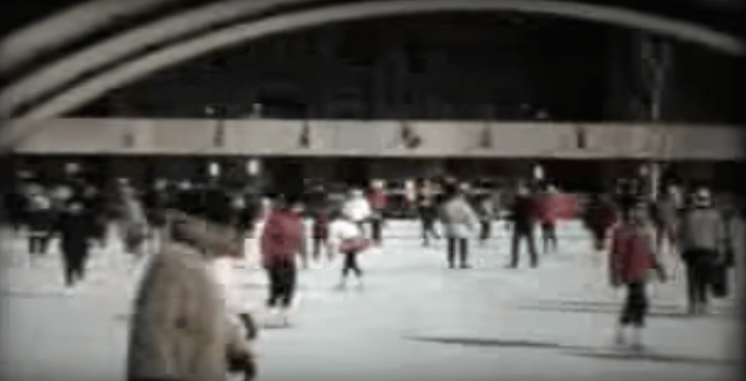 Take a look at the Nathan Phillips Square skating rink in the 1960s (VIDEO)