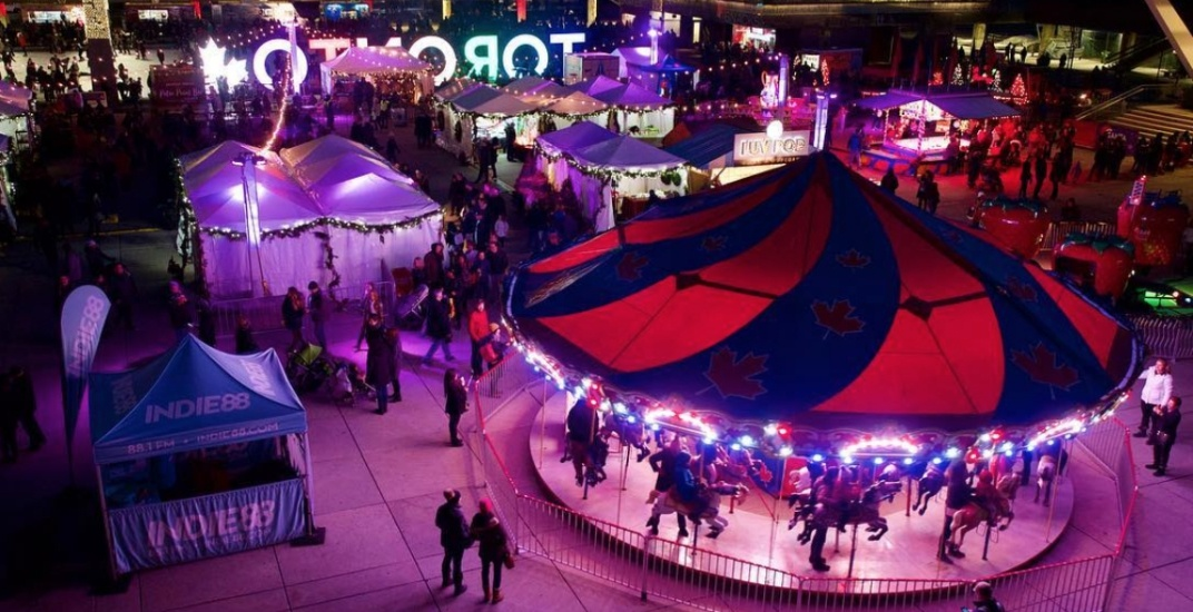 21 photos of opening weekend at Holiday Fair in the Square