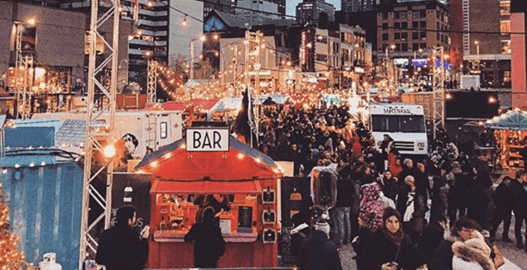 Montreal's downtown Christmas market is downright magical (PHOTOS)