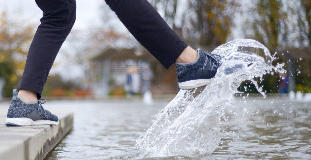 Waterproof knit sneakersvessi footwear