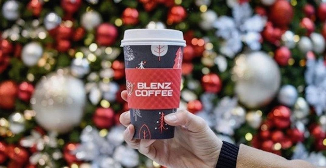 Blenz's new holiday drinks are here, and you've got to try these four ASAP