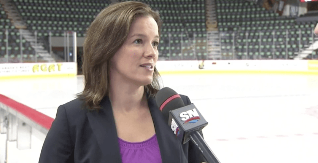 Why nobody should stop Cassie Campbell from calling games involving her husband on Hockey Night in Canada